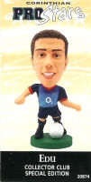 Edu, Arsenal - PRO728 - Corinthian - Prostars - Other Sets - Collector Club - Card
