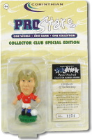 Pavel Nedved, Czech Republic - PRO895 - Corinthian - Prostars - Other Sets - Collector Club - Blister Pack