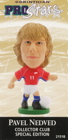 Pavel Nedved, Czech Republic - PRO895 - Corinthian - Prostars - Other Sets - Collector Club - Card