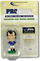 Michel Platini, France - PRO927 - Corinthian - Prostars - Other Sets - Collector Club - Blister Pack