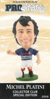Michel Platini, France - PRO927 - Corinthian - Prostars - Other Sets - Collector Club - Card