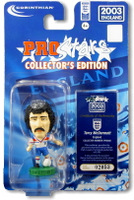 Terry McDermott, England - PRO856 - Corinthian - Prostars - Other Sets - Collector Edition - Blister Pack