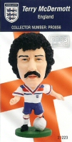Terry McDermott, England - PRO856 - Corinthian - Prostars - Other Sets - Collector Edition - Card