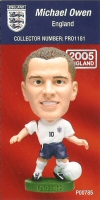Michael Owen, England - PRO1181 - Corinthian - Prostars - Other Sets - Convention Release - Card