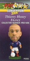 Thierry Henry, France - PRO1406 - Corinthian - Prostars - Other Sets - Convention Release - Card