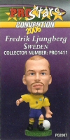 Fredrik Ljungberg, Sweden - PRO1411 - Corinthian - Prostars - Other Sets - Convention Release - Card