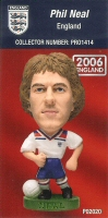 Phil Neal, England - PRO1414 - Corinthian - Prostars - Other Sets - Convention Release - Card