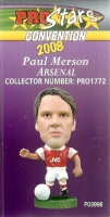 Paul Merson, Arsenal - PRO1772 - Corinthian - Prostars - Other Sets - Convention Release - Card
