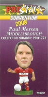 Paul Merson, Middlesbrough - PRO1773 - Corinthian - Prostars - Other Sets - Convention Release - Card