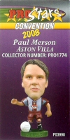 Paul Merson, Aston Villa - PRO1774 - Corinthian - Prostars - Other Sets - Convention Release - Card