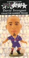 David Trezeguet, France - PRO440 - Corinthian - Prostars - Other Sets - Convention Special - Card