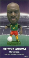 Patrick Mboma, Cameroon - PRO1092 - Corinthian - Prostars - Other Sets - Japan Series 1 - Card