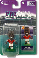 Andy Cole, Manchester United - PRO425 - Corinthian - Prostars - Regular Series - Series 12 - Blister Pack