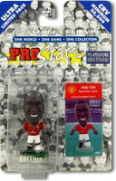 Andy Cole, Manchester United - PRO425 - Corinthian - Prostars - Regular Series - Series 12 - Platinum Pack