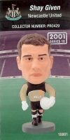 Shay Given, Newcastle United - PRO429 - Corinthian - Prostars - Regular Series - Series 12 - Card