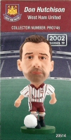 Don Hutchison, West Ham United - PRO748 - Corinthian - Prostars - Regular Series - Series 19 - Card