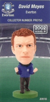 David Moyes, Everton - PRO750 - Corinthian - Prostars - Regular Series - Series 19 - Card