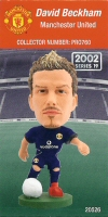 David Beckham, Manchester United - PRO760 - Corinthian - Prostars - Regular Series - Series 19 - Card