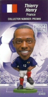 Thierry Henry, France - PRO969 - Corinthian - Prostars - Regular Series - Series 24 - Card