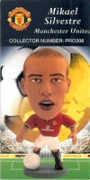 Mikael Silvestre, Manchester United - PRO306 - Corinthian - Prostars - Regular Series - Series 8 - Card