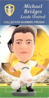 Michael Bridges, Leeds United - PRO324 - Corinthian - Prostars - Regular Series - Series 9 - Card
